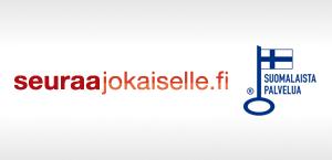 Seuraajokaiselle logo